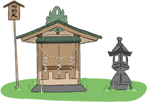 Sangotto Shrine by TendachiPups