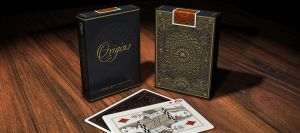 Origins playing cards - Tuck case design by trickd