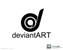 Deviant Art Logo 9 ReyJ. by reyjdesigns