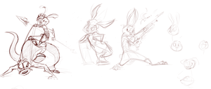 Wabbit Warriorz by Ishoka