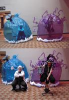Medusa version 3.5 and Stein version 2.0 cosplays by Kawaii-Miko-Senshi