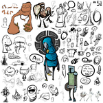Doodles 51 by SeLeB