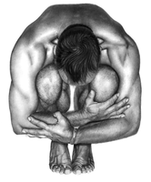 Male Bodyscape Drawing No.1 by Paul-Shanghai