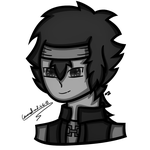 Lucasfan375 - Head Shot Black and White by Carousel-and-G-G-B