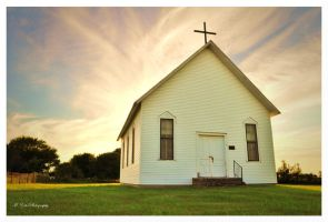 The Little Prairie Church by erbphotography