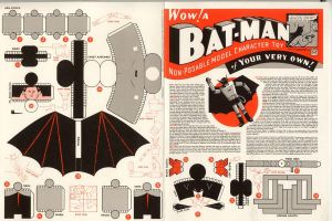 1940's Batman cubee by logancat24
