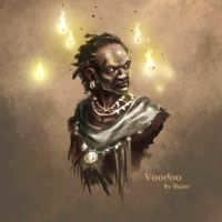 Daily Sketch Voodoo by Ruloc