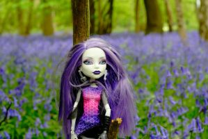 Spectra in the bluebells close-up by astrogoth13