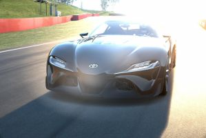 Toyota FT1 concept racing by NightmareRacer85