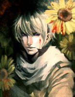 APH_Bloody Sunflowers by Ecthelian