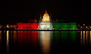 Hungary - Red, White and Green by AgiVega