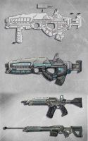 Weapons Concepts by Hitsys