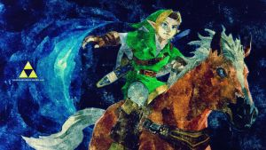 Link. The Legend. II FULL HD WALLPAPER by SoenkesAdventure
