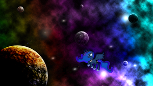 Luna Space Wallpaper by JamesG2498
