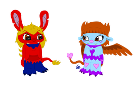 Colored Stitch Experiments by uhnevermind