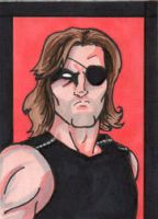 Snake Plissken by JamesRiot
