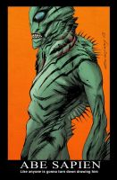Abe Sapien by ColtNoble