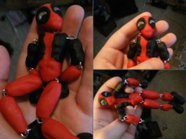 Chain Figure Deadpool by Blissful-DeathTrap