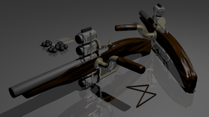 [D.T] Semi-Automatic HammerGun by John2PG