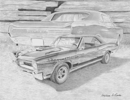1966 Pontiac GTO Collage by rooks10904