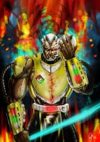 Cyrax Unmasked-Mortal Kombat Deadly Alliance by Grapiqkad