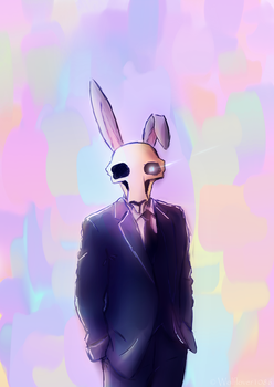 Happy Easter from Mr Easter by Wolflover1086