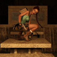 Classic Raider 12 by tombraider4ever