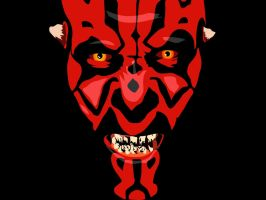 Darth Maul Wallpaper by legsley