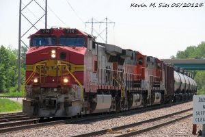 BNSF 714 1122 and 5125 in all schemes leads OSJEH by EternalFlame1891