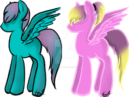 MLP Adopts-Points-Open by MsKillerwolf