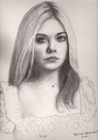 Elle Fanning by Greywolf42
