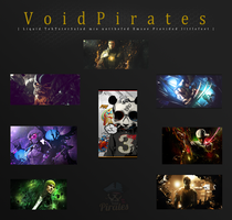 Void Pirates vs TwistedPuppets by Tay-X