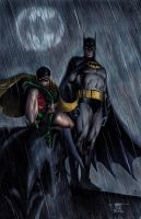 Batman and Robin by edtadeo