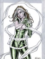 X-Men's Rogue Commission 02 by John-Stinsman