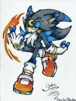 sinister the hedgehog by I-CyBeR-NeTiCs-I