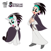 Commission: Sixtoh - Pony/ Human by Trinityinyang