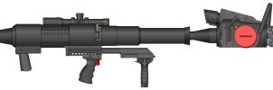 Rocket Propelled Chainsaw RPC by Warkom