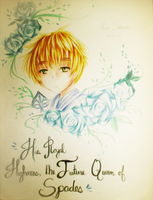 APH: His Face on Parchment by hana-sakurano