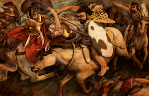Numidian Cavalry at Cannae by LordGood