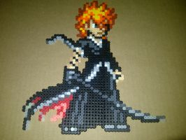 Ichigo Final Bankai Bead Sprite by LingeringSentiments
