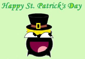 Happy St Patty's Gold Pot Day by northernlight33