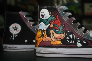 Super Mario Custom Shoes 3 by Harpo-exe