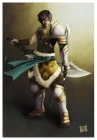 warrior by Lihony