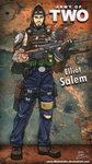 ARMY OF TWO-Elliot Salem by MAKATAKO