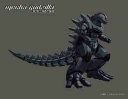Mecha Godzilla Individual Layouts - Battleship by NoBackstreetboys