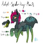[CLOSED] Spider Pony - Mare by KoNinjin