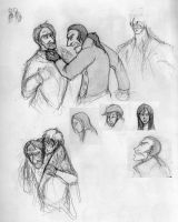 Les Miserables Sketchdump 4 by HelenaSun