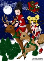 Coloring Contest-Sandy Clause by Malindachan