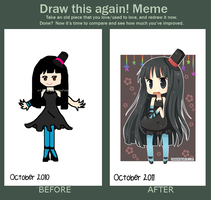 Draw This Again Meme by hanahello
