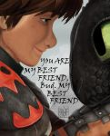 Hiccup and Toothless by Ferngriff
